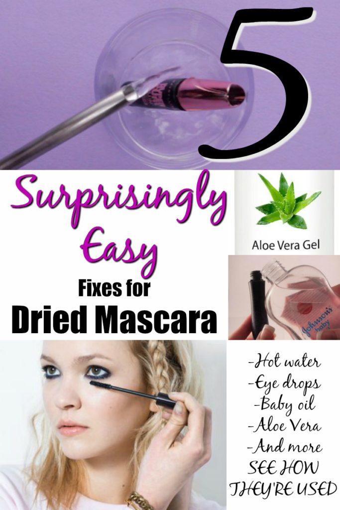 Fix Dried Mascara
