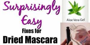 5 Surprisingly Easy Fixes for Dry Mascara