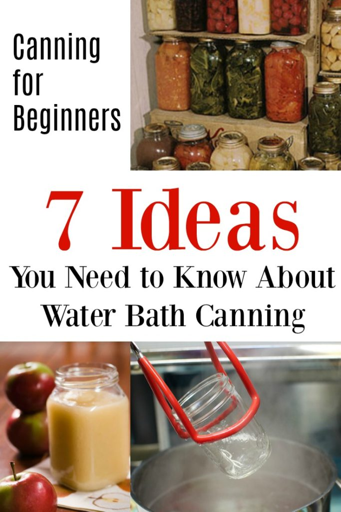 Canning for Beginners - Water Bath Canning