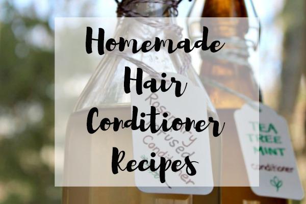 Homemade Hair Conditioner Recipes