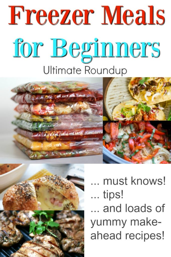 Freezer Meals for Beginners