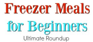 Freezer Meals for Beginners – The Ultimate Roundup
