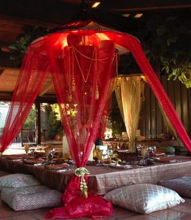 Moroccan Decor Outdoor Dining