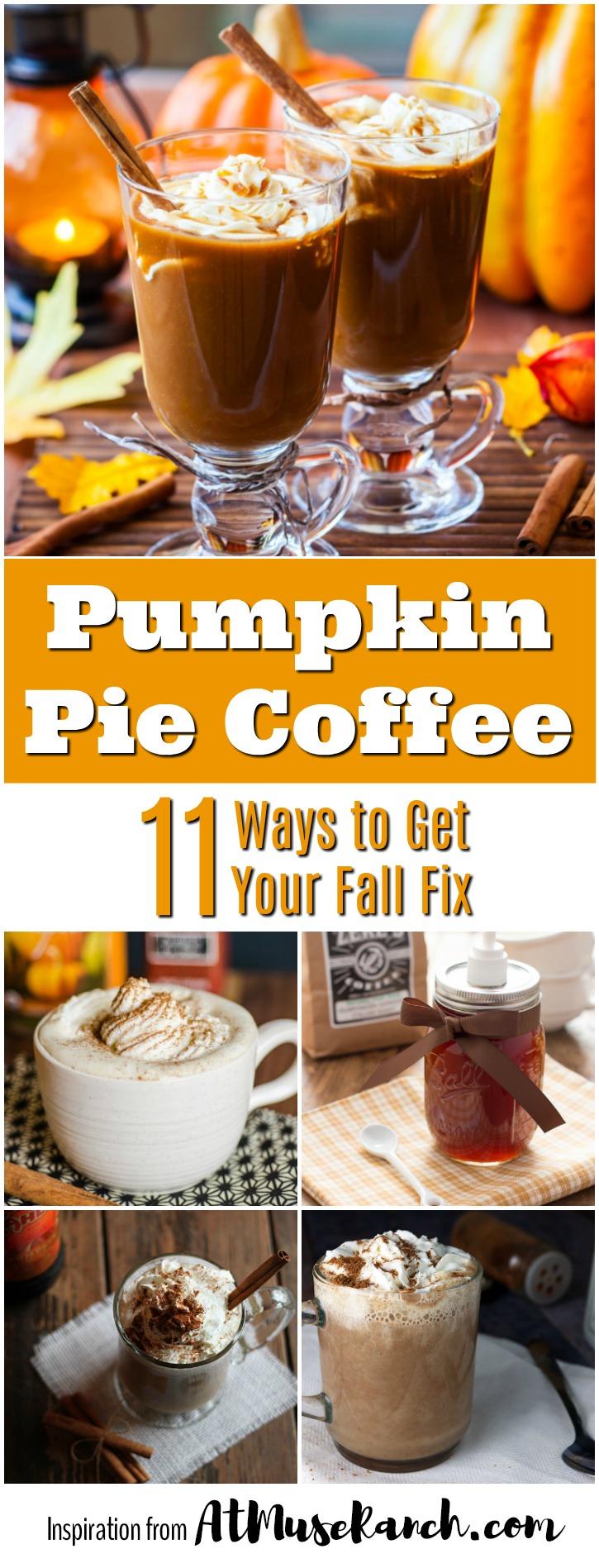 pumpkin spice coffee recipes