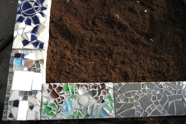 mosaic-cinder-block-planter-5 Raised Bed Garden Designs And Ideas on eco friendly design ideas, raised bed gardens with stone, raised garden beds on a farm, raised garden wall ideas, backyard design ideas, raised garden beds on a sloped yard, raised garden planting ideas, raised vegetable planter design ideas, unique raised bed garden ideas, backyard garden ideas, raised garden planter boxes ideas, raised vegetable garden ideas, stone raised garden bed ideas, standing vegetable garden design ideas, tuscan raised bed garden ideas, cheap raised bed garden ideas, raised bed garden ideas creative, raised garden beds with railroad ties, raised bed herb garden ideas, garden center design ideas,