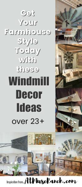 windmill decor ideas farmhouse style