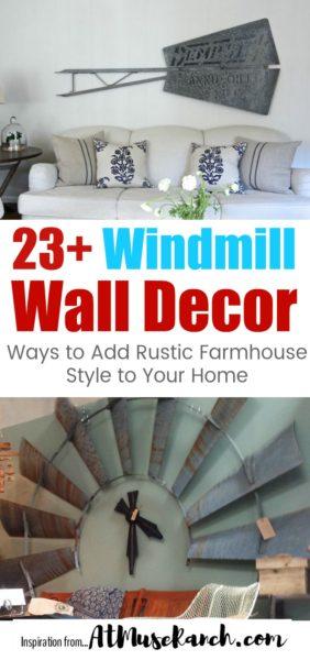 windmill wall decor
