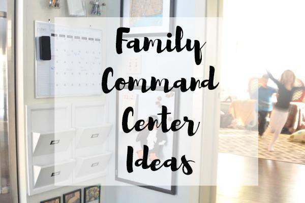 Family Command Center Ideas