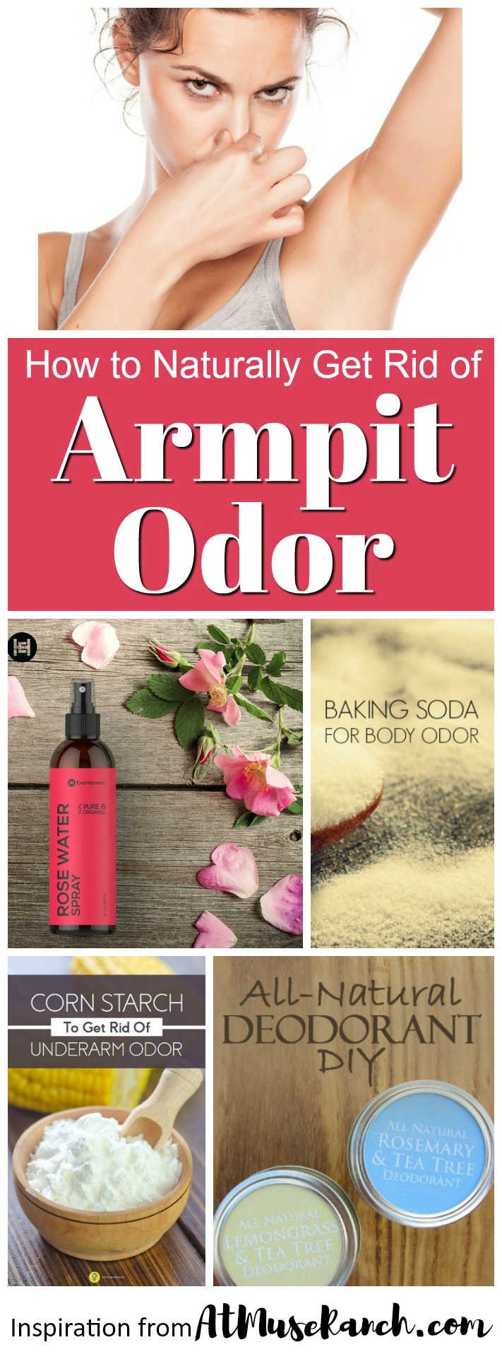 How to Get Rid of Armpit Odor Naturally