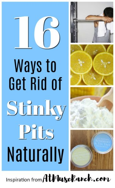 Cure Arm Pit Odor Naturally