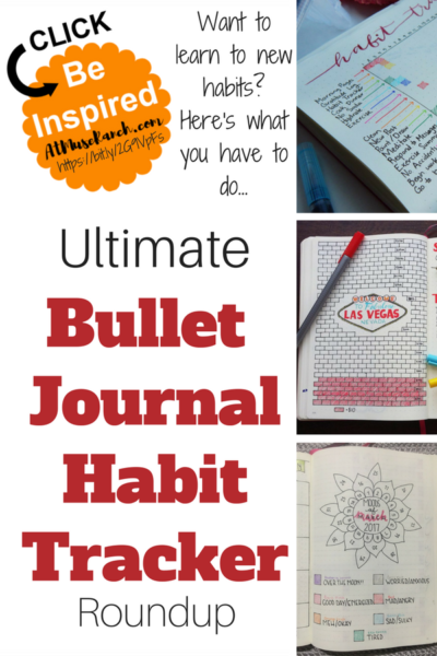 Ultimate Bullet Journal Habit Tracker Roundup