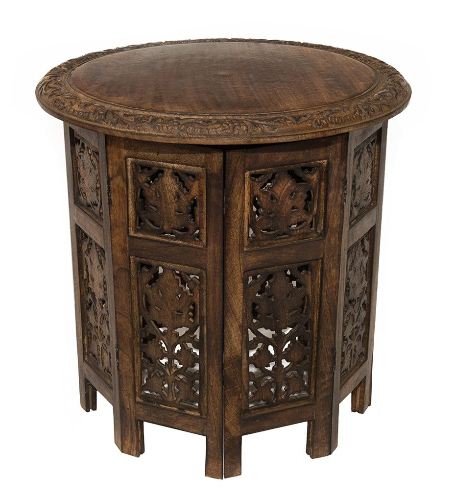 Moroccan Craved Nightstand