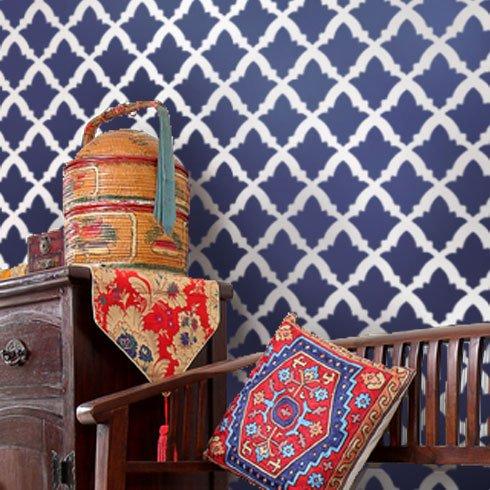 Moroccan-stencil-design
