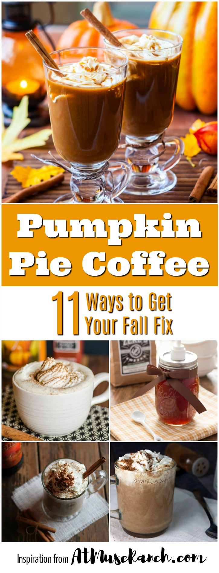 pumpkin spice coffee recipes
