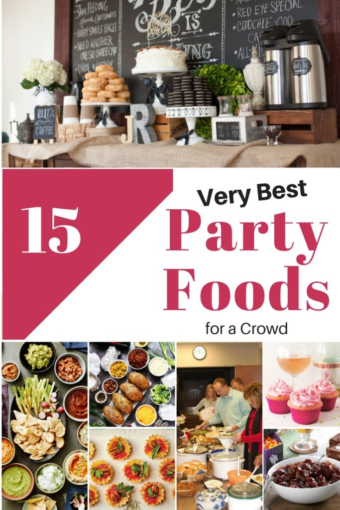 party foods for a crowd