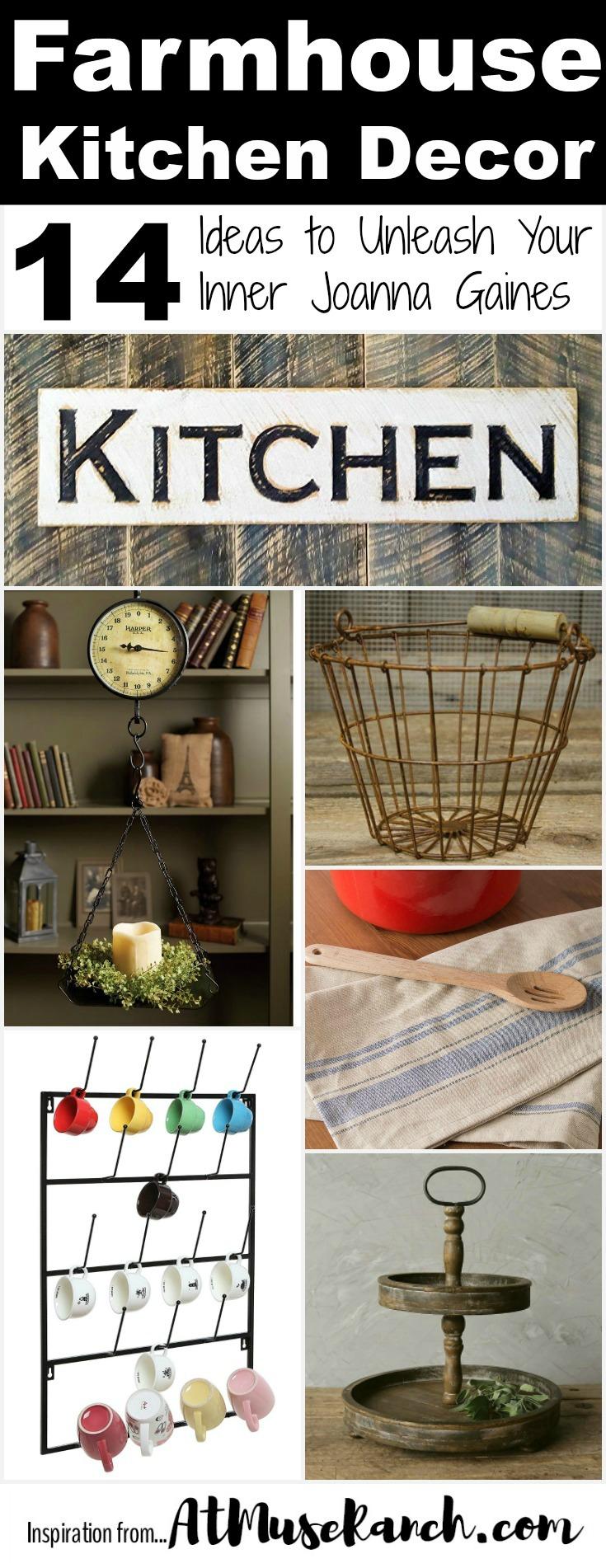 Farmhouse Kitchen Decor Just Like Joanna Gaines