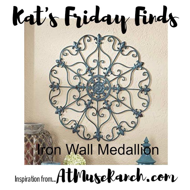 Iron Wall Medallion