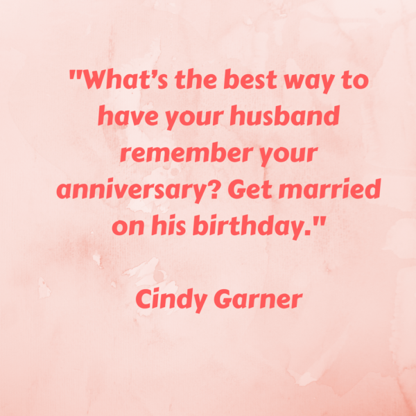 A Husband's Memory - Cute Relationship Quote or Fact?