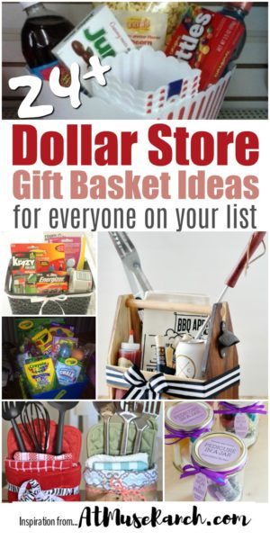 Dollar store gift baskets for everyone on your list dollar store gift basket ideas negle Images