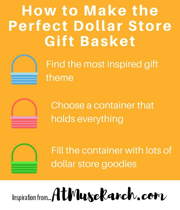 How to Make the Perfect Dollar Store Gift Basket