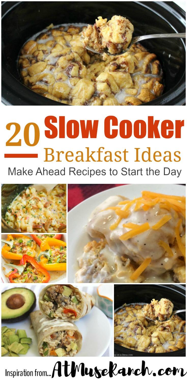 Slow Cooker Breakfast Ideas
