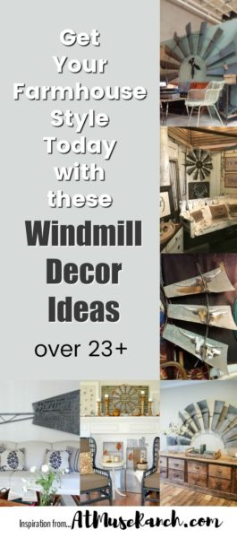 windmill decor ideas farmhouse style