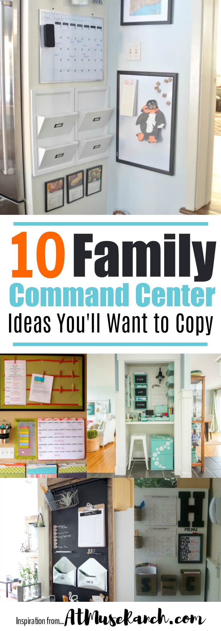 Family Command Center Ideas