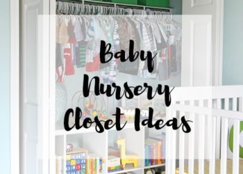 Get Organized with these Baby Nursery Closet Ideas