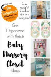 Baby Nursery Closet Ideas Organization