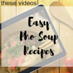 3 Easy Pho Soup Recipes in an Instant Pot