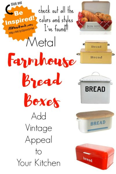 Farmhouse Bread Boxes
